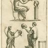 Roman actors and masks.