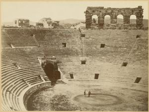 [Roman theater at Verona, Ital... Digital ID: 1624179. New York Public Library