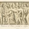 Cadavere di Ettore portato a Troja