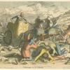 Sichelwagen in der Schlacht.
