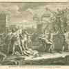 Klaudius Civilis bestormt de Romeinsche Legerplaats, te Vetera