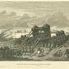 Siege d'une ville par les Romains sous Jules César.