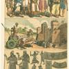 Trajes, armas y maquinas de guerra de los Babilonios y Asirios