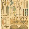 Armas, herramientas y utensilios de los Babilonios y Asirios.