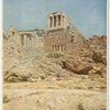 Propylées et Temple de la Victoire--Athènes.