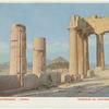 Intérieur du Parthènon--Athènes.