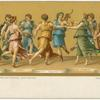 The dance of Apollo with the Muses.