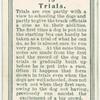 Trials.