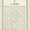 J. Golder