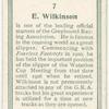 E. Wilkinson