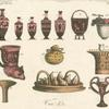 Assorted Greek pottery.