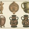 Assorted Greek pottery