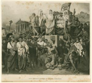 Marc Antony's oration at Cæsar... Digital ID: 1624731. New York Public Library