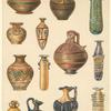 Assorted Cypriote pottery