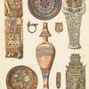 Assorted Egyptian pottery