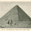 Die Pyramide des Cheops und der grosse Sphinx
