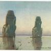 The Colossi of Thebes (moonrise).