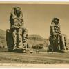 Thebes.  The famous of Colossus of Memnon.