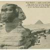 Egypt.  Sphinx erected 5,500 year ago.