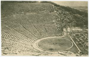 [Ancient  Greek theater.]