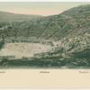 Athènes.  Theatre de Bacchus.