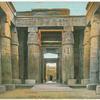 Karnak.  Entrée de temple.