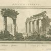 Hadrian's Aqueduct ; Temple of Minerva.