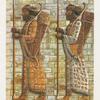 """Zwei der """"Unsterblichen"""" aus dem Palast Artaxerxes' II. in Susa"""