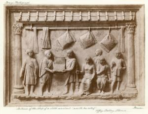 Interior of the shop of a clot... Digital ID: 1625036. New York Public Library