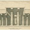 Der grosse Säulensaal des Tempels zu Karnak.