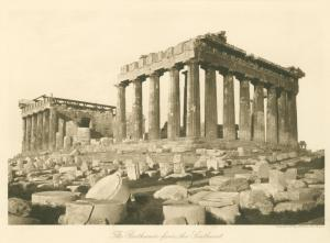 The Parthenon from the southeast.