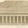 Temple of Jupiter, Olympia, reconstruction, from d'Espouy