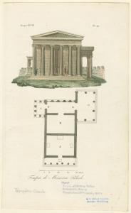 Tempio di Minerva Poliade.