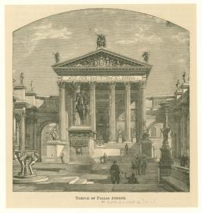 Temple of Pallas Athene.