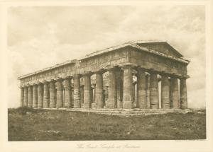 The Great Temple at Paestum. Digital ID: 1625058. New York Public Library