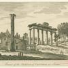 Ruins of the Temple of Concord at Rome.