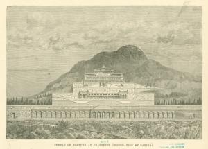 Temple of Fortune at Praeneste... Digital ID: 1625085. New York Public Library
