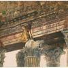 Baalbek.  Frises de la façade du Temple de Bacchus.