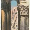 Baalbek.  Corridor du Temple de Bacchus.