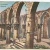 Baalbek.  La colonnade de l'ancienne mosquée.