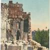 Baalbek.  Entrée de la Tour Septentrionale des Propylées.