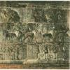 Wall picture in the tomb of Seti I.