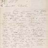 Letter to Samuel Ward from Julia Romana Howe, 1880 March.