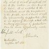 "Autograph endorsement of circular to the ""Loyal Women of America"". Countersigned by Winfield Scott"