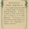 Munitions shell making.