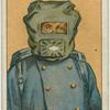Poison gas mask.