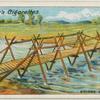 Bridge building.