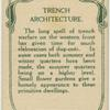 Trench architecture.