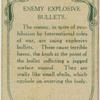 Enemy explosive bullets.
