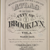 Detailed Estate and Old Farm Line Atlas of The City of Brooklyn. Complete In Six Volumes. Vol. 4. Comprising Wards 8 & 22. From Official Records, Private Plans and Actual Surveys, Based upon the Plans deposited in the Assessors Office. By G.M. Hopkins, C.E. 320 Walnut Street, Philadelphia. 1880.[Title Page.]